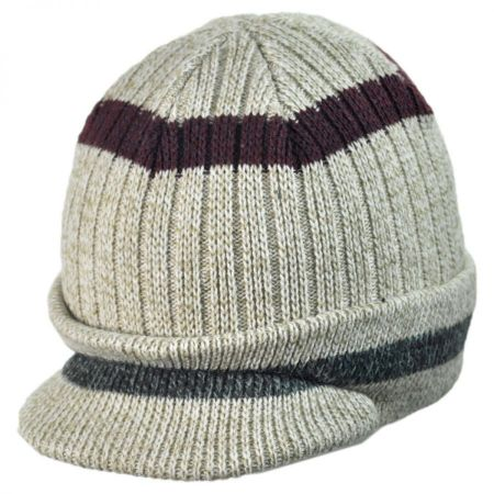 Radar Knit Visor Beanie Hat