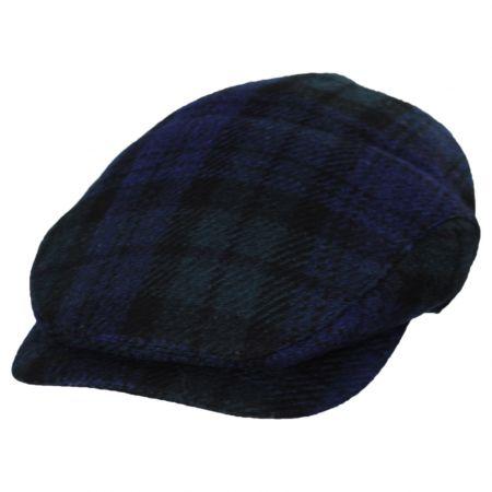Baskerville Hat Company Macclare Plaid Wool Ivy Cap
