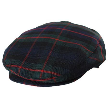 Baskerville Hat Company Pelham Plaid Wool Ivy Cap