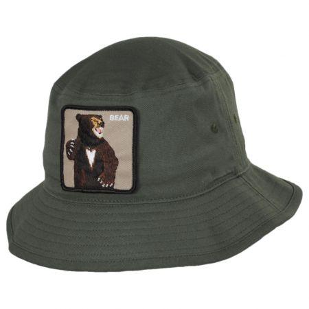 Bear Cotton Bucket Hat