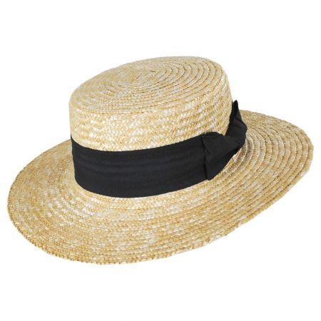 Barca Milan Straw Boater Hat alternate view 5