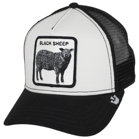 Black Sheep Mesh Trucker Snapback Baseball Cap