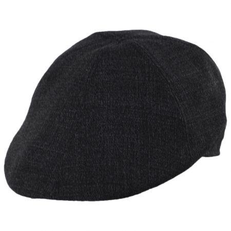 Baskerville Hat Company Branson Tweed Wool Duckbill Cap