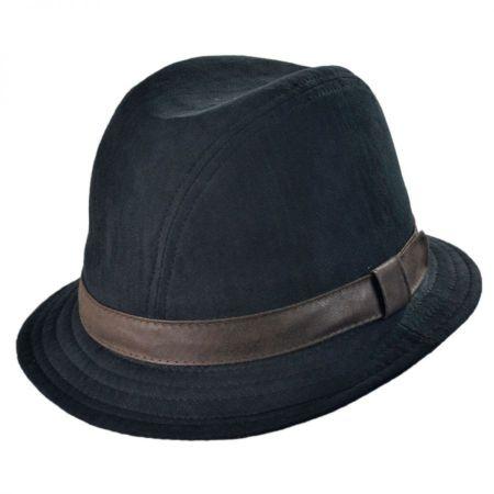 Woolrich Herringbone Twill Walker Hat with Earlap