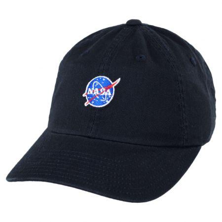 NASA Micro Cotton Strapback Baseball Cap Dad Hat