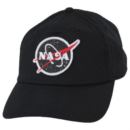 NASA Surplus Ripstop 5 Panel Mid Pro Cotton Snapback Baseball Cap