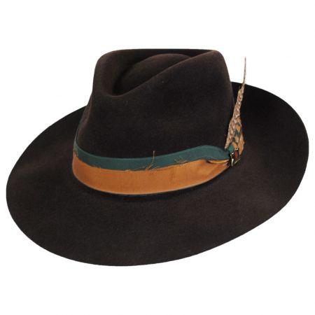 Pride Fur Felt Fedora Hat