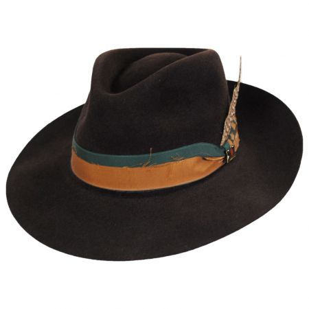 Pride Fur Felt Fedora Hat alternate view 9