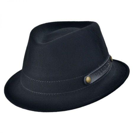 Woolrich Roll Up Wool Felt Fedora Hat