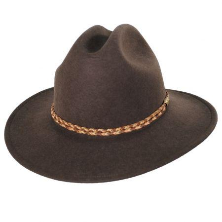 Mitchum Crushable Wool Felt Western Hat
