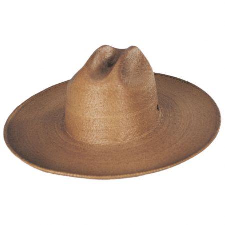 Toluca Fine Palm Straw Cattlemen Western Hat