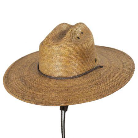 Monterrey Palm Straw Cattleman Western Hat alternate view 7
