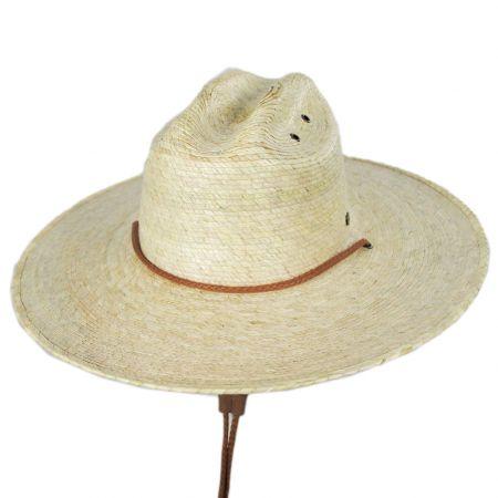Hemlock Hat Co Monterrey Palm Straw Cattleman Western Hat