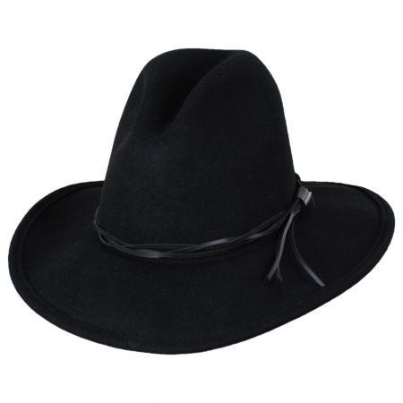 Gus Crushable Wool Felt Western Hat