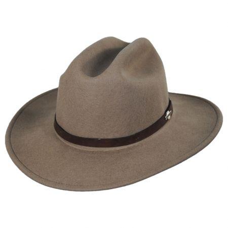 Route 66 Crushable Wool Felt Cattleman Hat