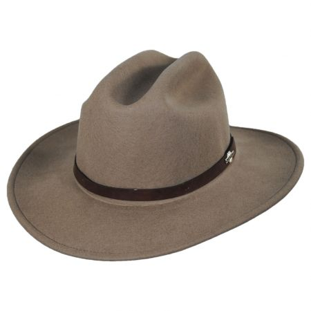 Route 66 Crushable Wool Felt Cattleman Hat alternate view 5