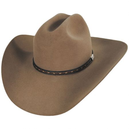 Resistol Ocho Rios 6X Fur Felt Cattleman Western Hat