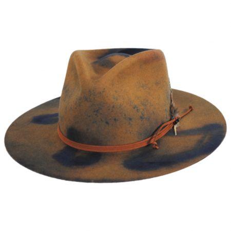 Retrograde Fur Felt Fedora Hat
