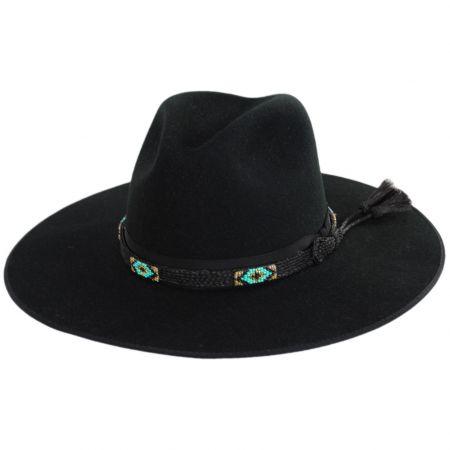 Helix Wool Felt Fedora Hat alternate view 6