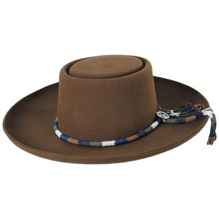 Tellus Wool Felt Gambler Hat