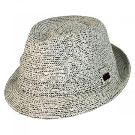 Billy Braided Toyo Straw Fedora Hat alternate view 26