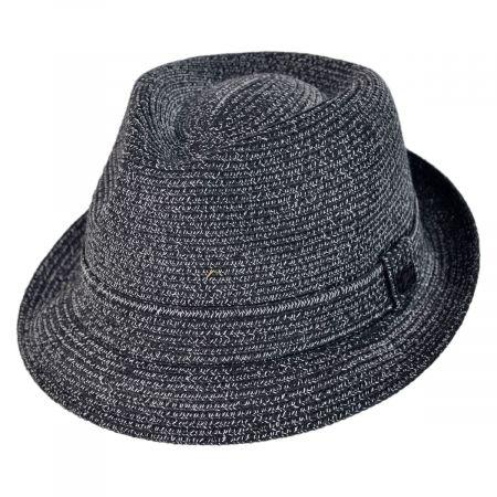 Billy Braided Toyo Straw Fedora Hat alternate view 2