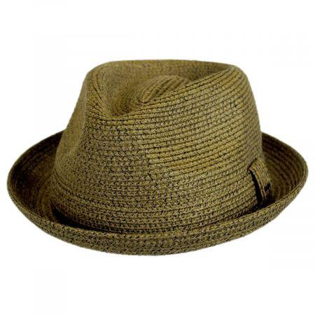 Billy Braided Toyo Straw Fedora Hat alternate view 6