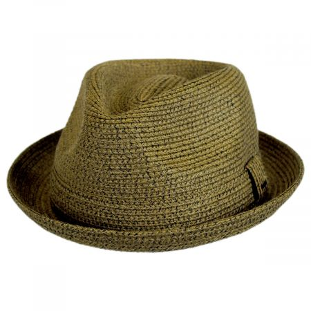 Billy Braided Toyo Straw Fedora Hat alternate view 22