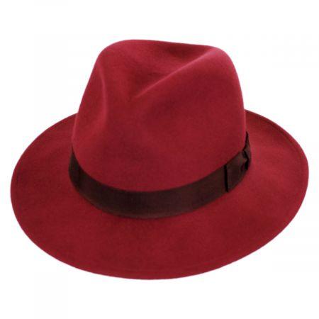 Curtis Wool Felt Safari Fedora Hat alternate view 9
