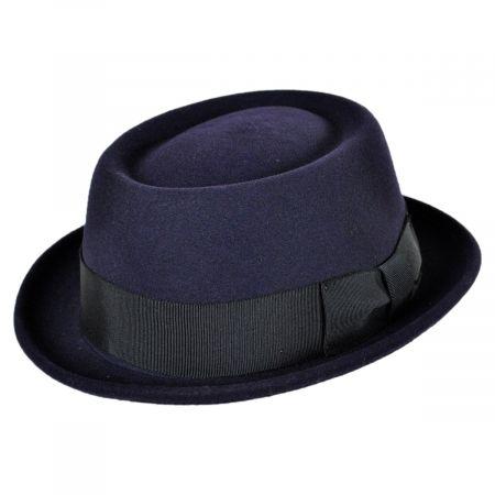 Darron Wool LiteFelt Pork Pie Hat