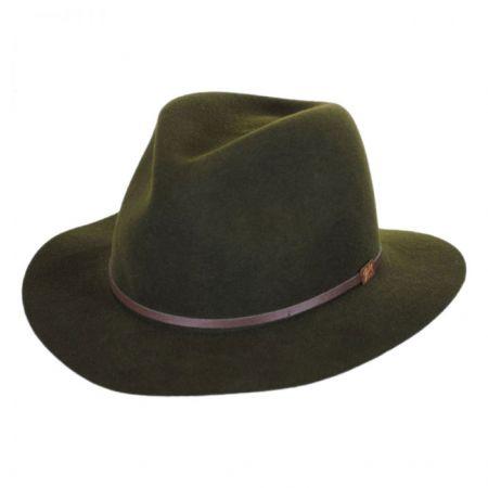 Jackman Rollable Wool LiteFelt Fedora Hat alternate view 2