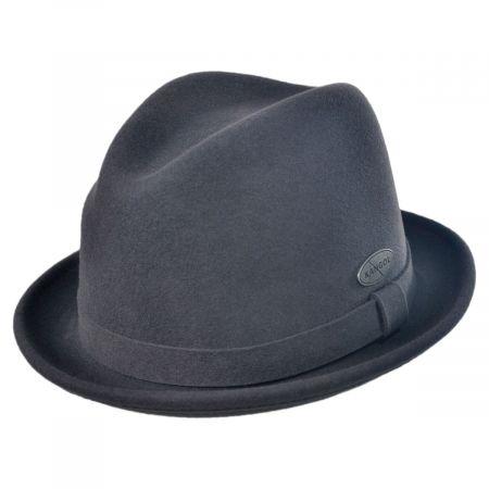 Wool LiteFelt Player Fedora Hat
