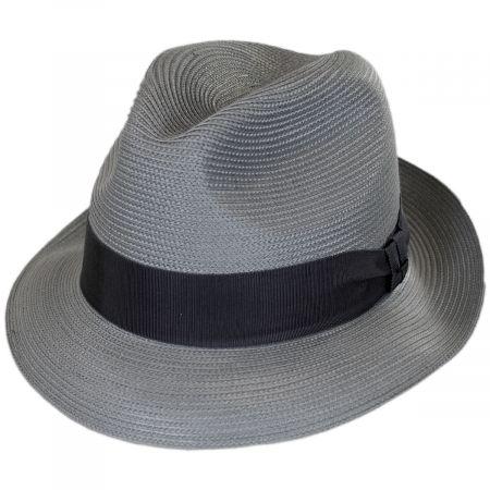 Craig Straw Fedora Hat