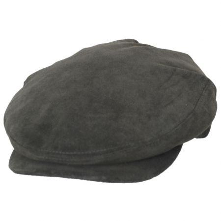 Italian Suede Leather Ivy Cap