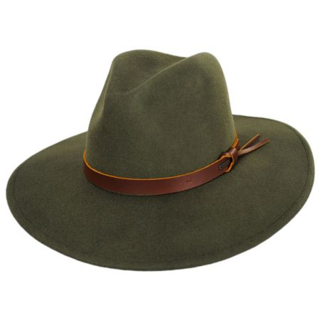 Brixton Hats Field Proper Wool Felt Fedora Hat