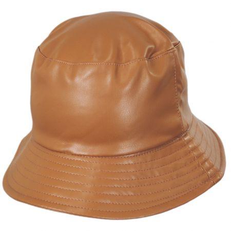 Scala Roderick Vegan Leather Bucket Hat