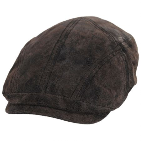 Sabre Weathered Leather Ivy Cap