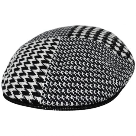 Abstract Houndstooth 504 Ivy Cap