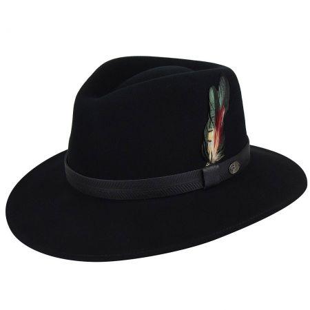 Abbott Lanolux Wool Felt Fedora Hat alternate view 9
