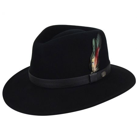Abbott Lanolux Wool Felt Fedora Hat alternate view 17