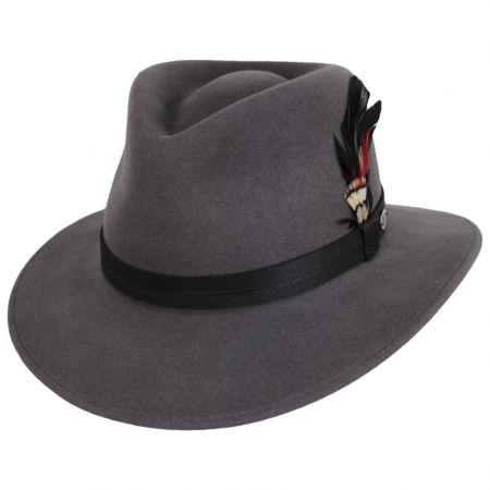 Abbott Lanolux Wool Felt Fedora Hat