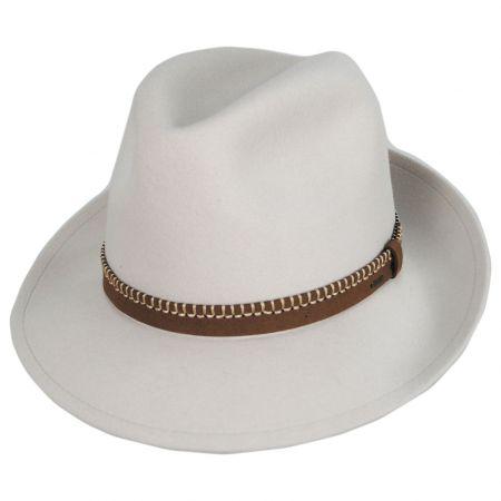 Acker LiteFelt Wool Fedora Hat