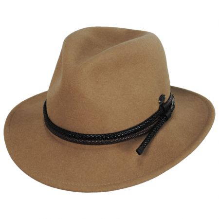 Nelles LiteFelt Wool Fedora Hat