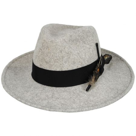 Bailey Burnell LifeFelt Wool Fedora Hat