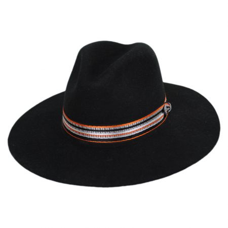 Rocco Wool Felt Fedora Hat alternate view 9