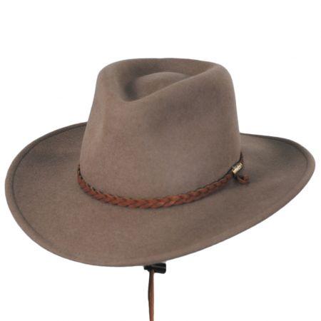 Sagebrush Crushable Wool Felt Outback Hat alternate view 13