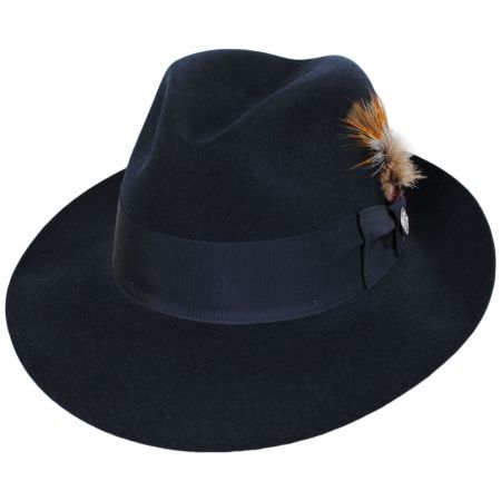 Temple Fur Felt Fedora Hat alternate view 53