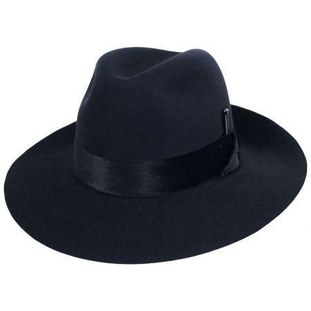 Burgan Fur Felt Fedora Hat alternate view 9