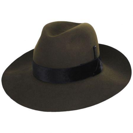 Burgan Fur Felt Fedora Hat alternate view 13