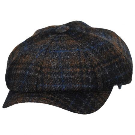 Mallalieus Tartan British Wool Newsboy Cap alternate view 9